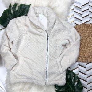 Zella Fluffy Sherpa Full Zip Jacket